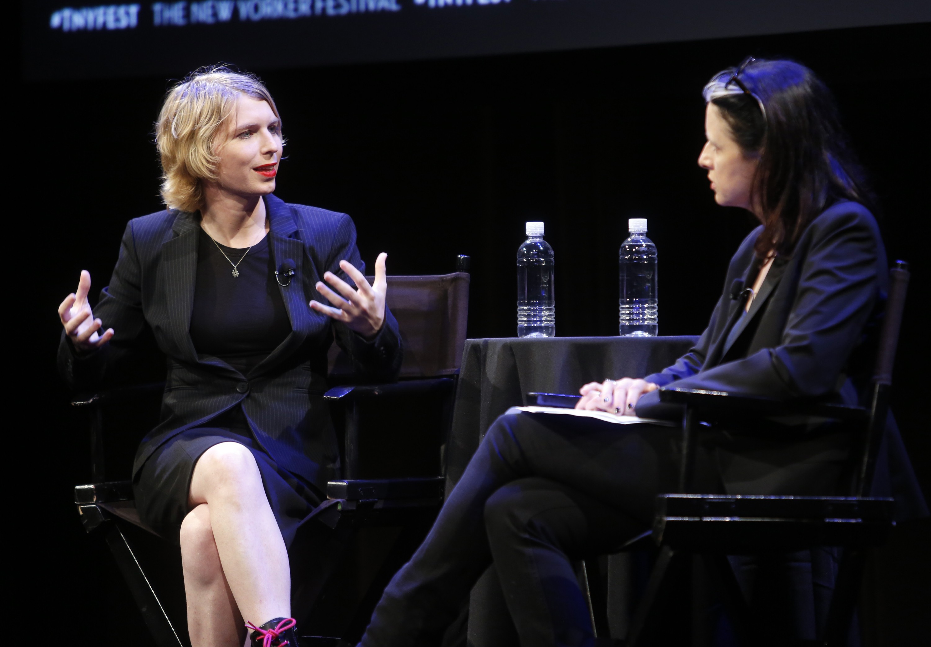 The 2017 New Yorker Festival - Chelsea Manning Talks With The New Yorker's Larissa MacFarquhar