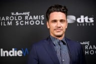 James Franco Wins Critics' Choice Award Amid Sexual Misconduct Claims