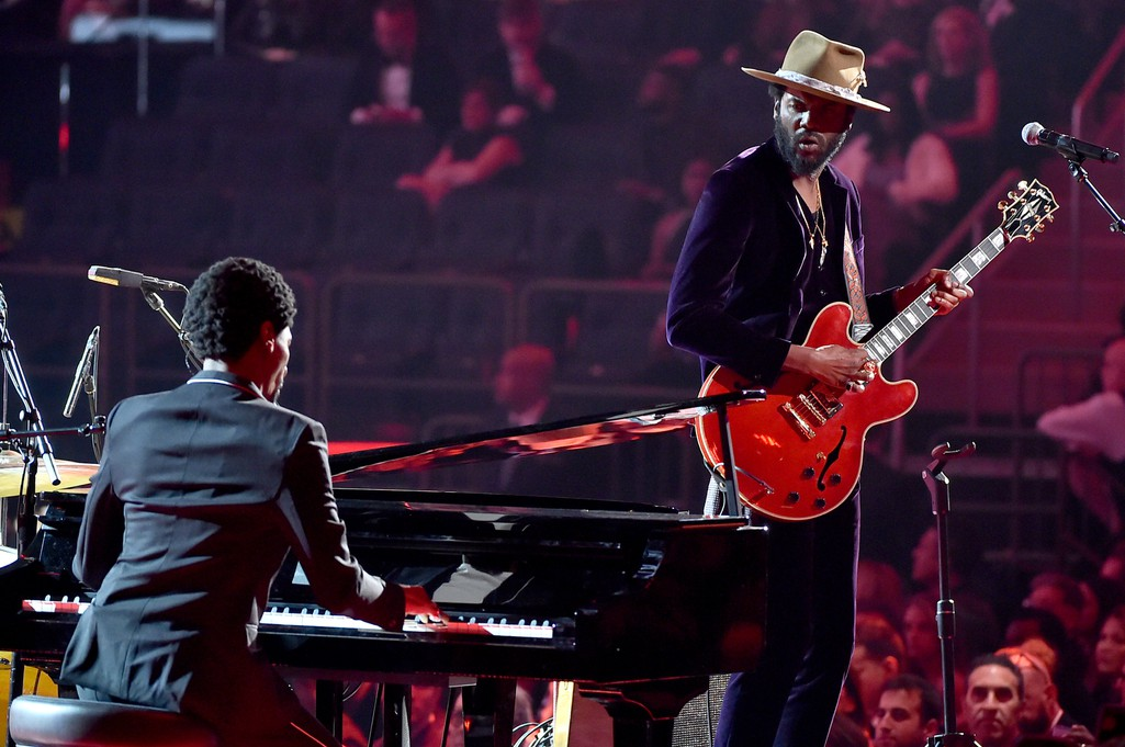 Grammys 2018: Watch Jon Batiste and Gary Clark Jr. Perform a Tribute to Chuck Berry and Fats ...