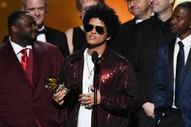Grammys 2018: Bruno Mars Wins Album of the Year for <i>24K Magic</i>