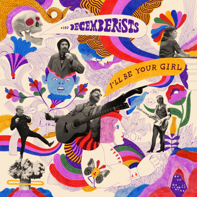 Image result for The Decemberists, I'LL BE YOUR GIRL (Capitol