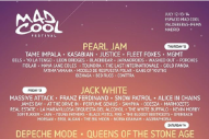 Pearl Jam, Jack White, QOTSA, and Nine Inch Nails to Headline Madrid's Mad Cool Festival