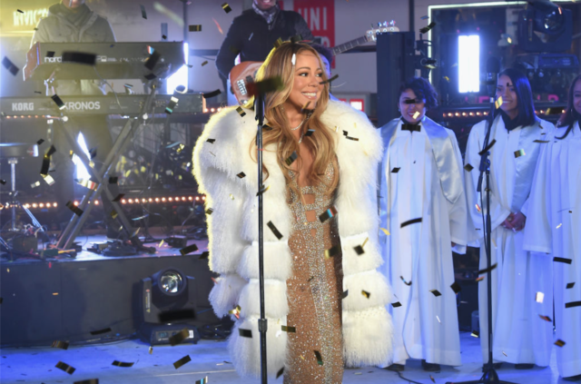 Mariah Carey's New Year's redemption was kind of a letdown