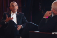 Watch Obama Talk About Dancing With Prince in Clip From David Letterman's New Netflix Show