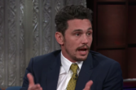 James Franco Calls Sexual Misconduct Allegations &#8220;Not Accurate&#8221; in <i>Colbert</i> Interview