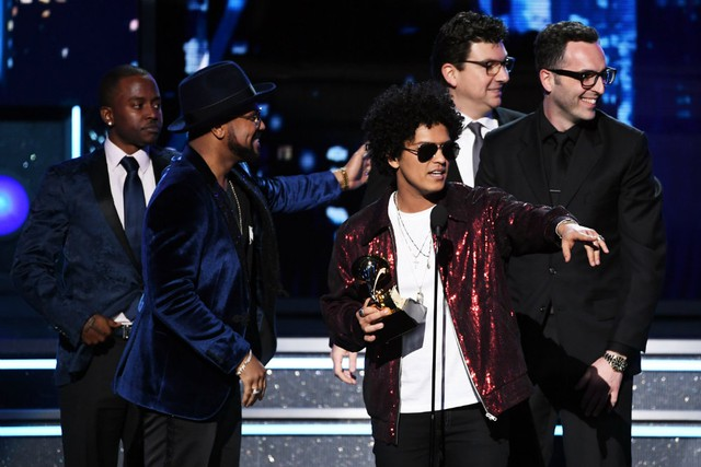 Bruno Mars wins Album of the Year Grammy 2018