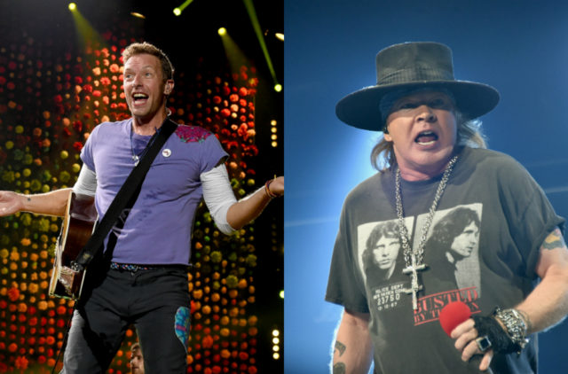 Coldplay And Guns N Roses Grossed A Combined 1 Billion Touring In