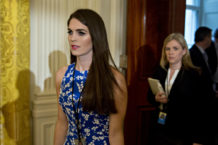 Staffers refer to Ivanka as Trump's wife and Hope Hicks as Trump's daughter