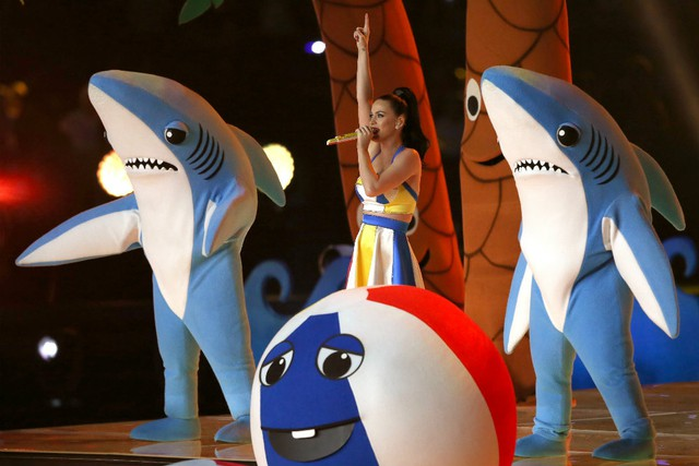 Katy Perry's Left Shark says his moves were meant to be 'freestyle'