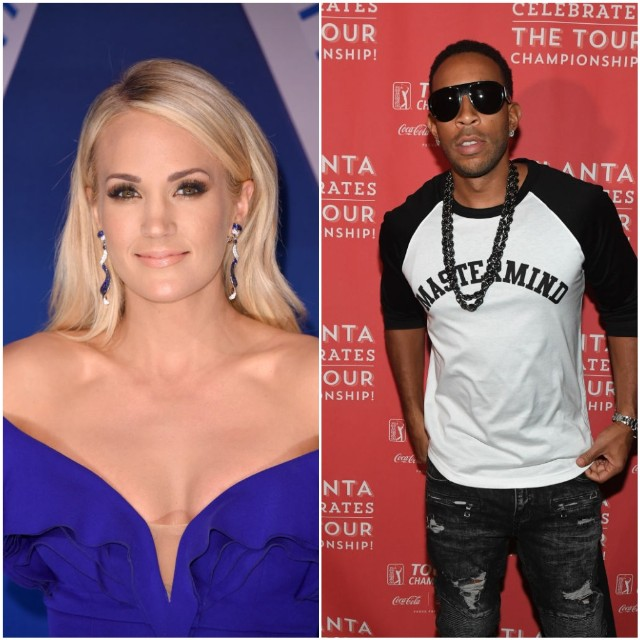 Carrie Underwood, Ludacris Team Up For Super Bowl class=
