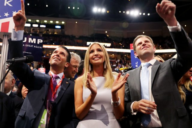 Trump reportedly knows that Don Jr. and Eric are morons