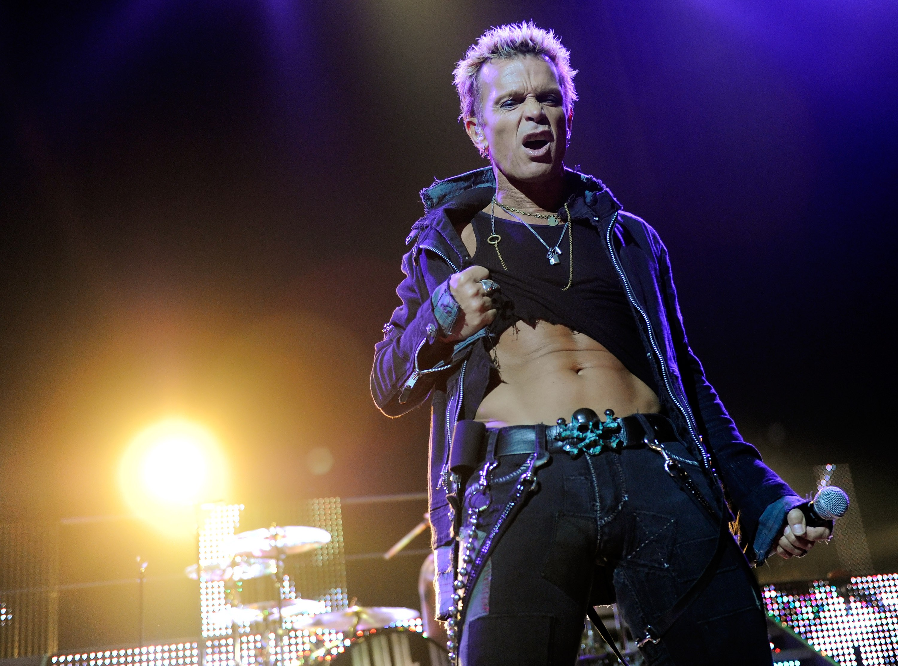 Billy Idol In Concert At The Pearl At The Palms