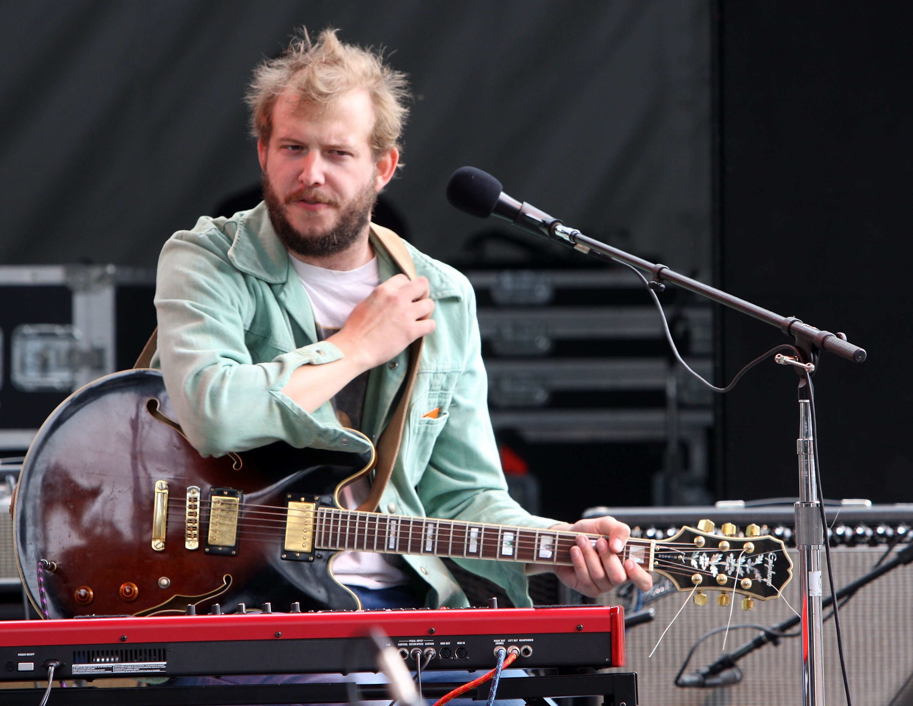 2008 Outside Lands Music And Arts Festival - Day 3 - Bon Iver
