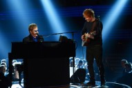 "Watch Elton John Call Ed Sheeran ""Ed Shirran"" at the BRIT Awards"