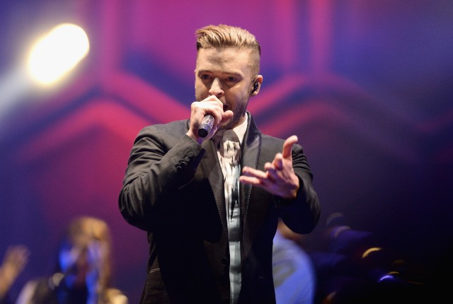 Justin Timberlake Performs At The 02 Arena