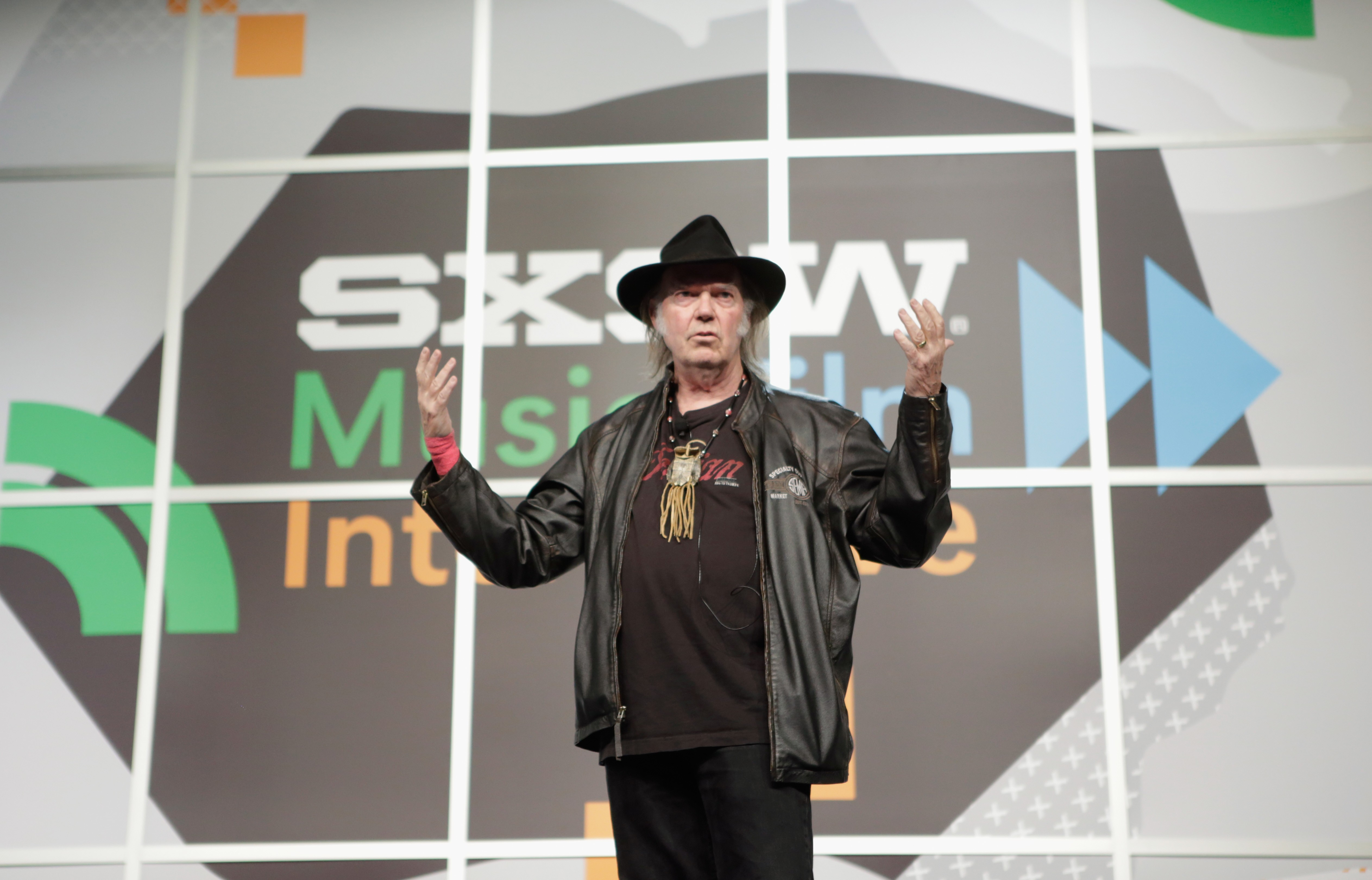 SXSW Interview: Neil Young - 2014 SXSW Music, Film + Interactive Festival