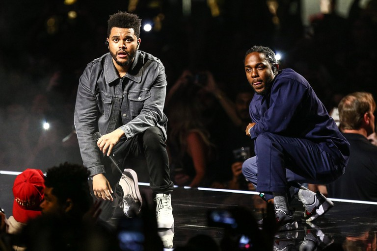 Kendrick Lamar Joins The Weeknd During The
