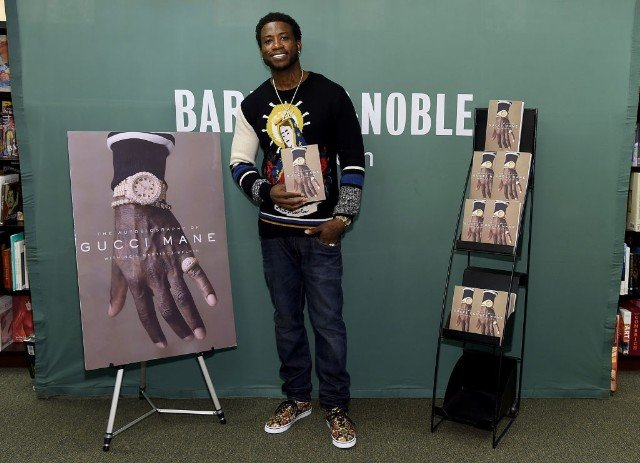 Gucci Mane Signs Copies Of His New Book