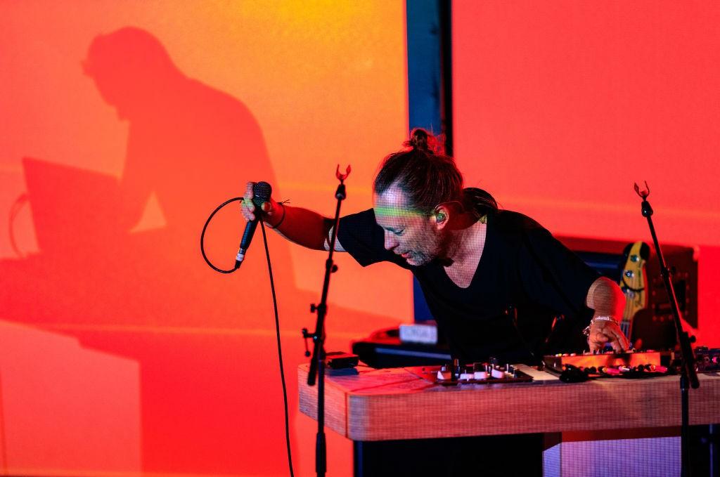 Thom Yorke Performs At The Fonda Theatre