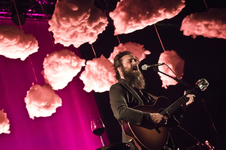 Iron & Wine Performs In Berlin