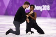 French Figure Skaters Used Disturbed for Their Olympic Routine