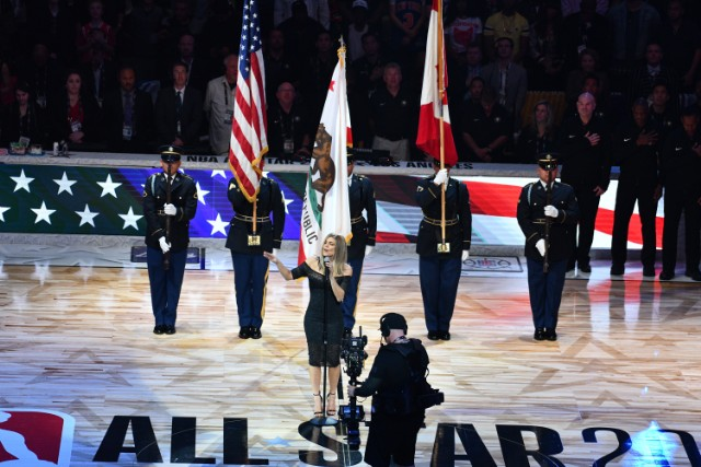 Fergie on national anthem performance: 'I tried my best'