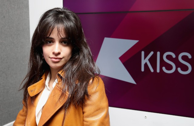Camilla Cabello Visits KISS FM