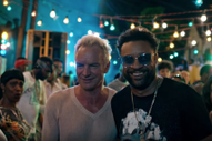 "Watch Sting Try to Hang Out With Shaggy in Jamaica in Their ""Don't Make Me Wait"" Video"