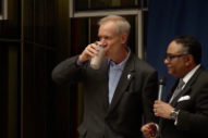 "Illinois Governor Who Drank Chocolate Milk to Make a Point About Diversity: ""It's Really, Really Good"""