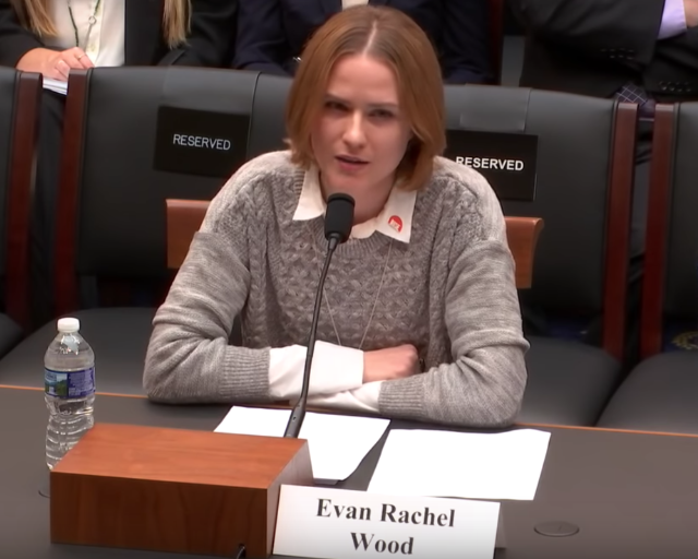 Evan Rachel Wood details years of horrific sexual abuse during Congress testimony