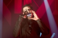 Marilyn Manson Melts Down Onstage in Weird Freestyle Blues Jam