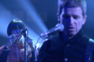 You Can Actually Hear Noel Gallagher&#8217;s Scissors Player on <i>Fallon</i>