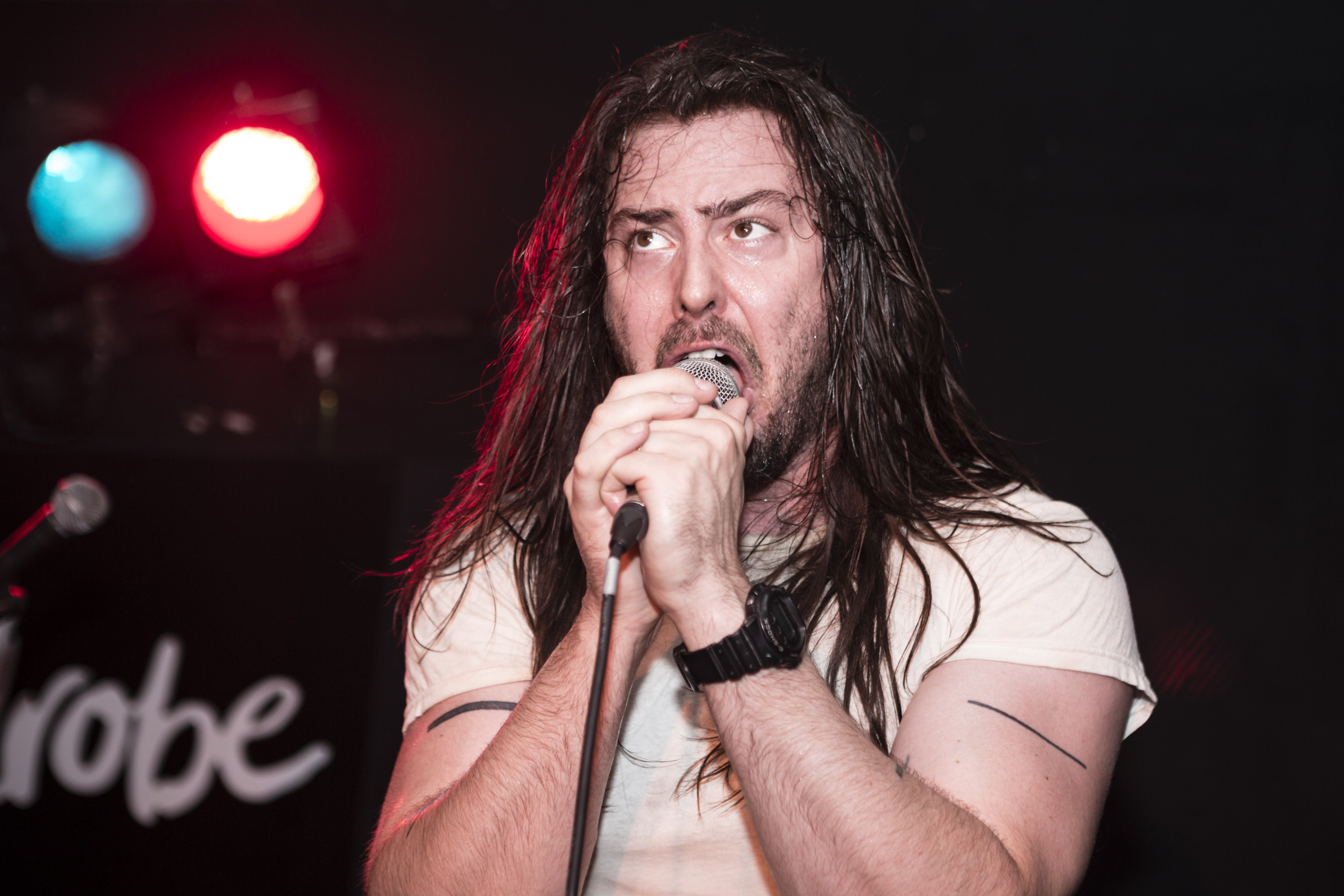 Andrew W.K Performs At The Wardrobe In Leeds