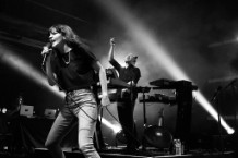 Chvrches And Wolf Alice In Concert At Brooklyn Bowl Las Vegas