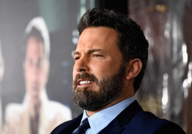 Ben Affleck jokes about his 'garish tattoos'