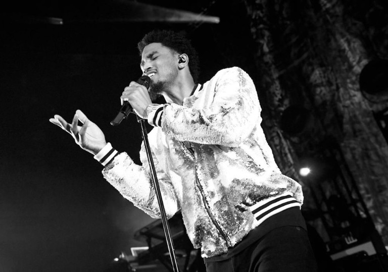 Trey Songz In Concert With Mike Angel At Brooklyn Bowl Las Vegas