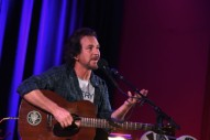Watch Eddie Vedder Cover John Lennon, U2, and The Velvet Underground in Brazil