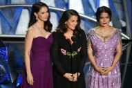 "Oscars 2018: Watch Salma Hayek, Ashley Judd, and Annabella Sciorra Present ""Trailblazers"" Montage and Discuss #TimesUp"