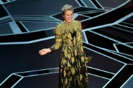 Oscars 2018: Frances McDormand Brings All Female Nominees to Their Feet in Best Actress Acceptance Speech