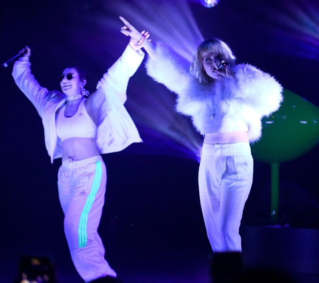 Charli XCX Performs At El Rey Theatre