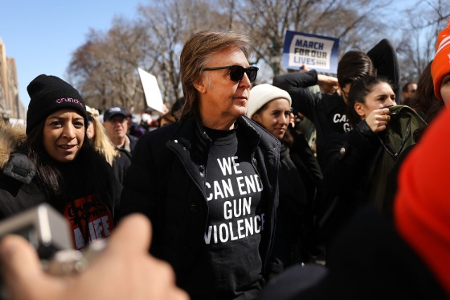 Thousands Join March For Our Lives Events Across US For School Safety From Guns