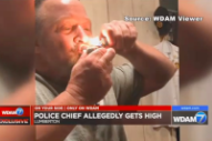 Mississippi Police Chief Caught Smoking Weed on Video: I'm the Only Police Chief That Likes to Smoke Weed