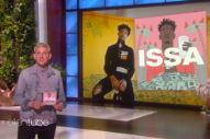 "Here's Ellen Degeneres Saying ""Please Welcome, 21 Savage"" on Loop"