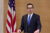 It's Steve Mnuchin's Fault We're Still Talking About This Video of Steve Mnunchin Getting Heckled