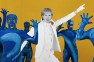"Watch Beck's ""Colors"" Video, Directed by Edgar Wright and Starring Alison Brie"