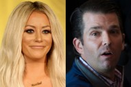 "Did Aubrey O'Day Write ""DJT"" About Her Rumored Affair With Donald Trump Jr.?"