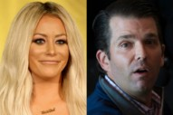 Aubrey O'Day's History of Cryptic References To an Affair With Someone Who Might Be Donald Trump Jr.