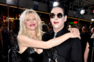 Marilyn Manson Teases New Music Video Featuring Courtney Love