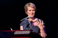 Cynthia Nixon Isn't New to Politics