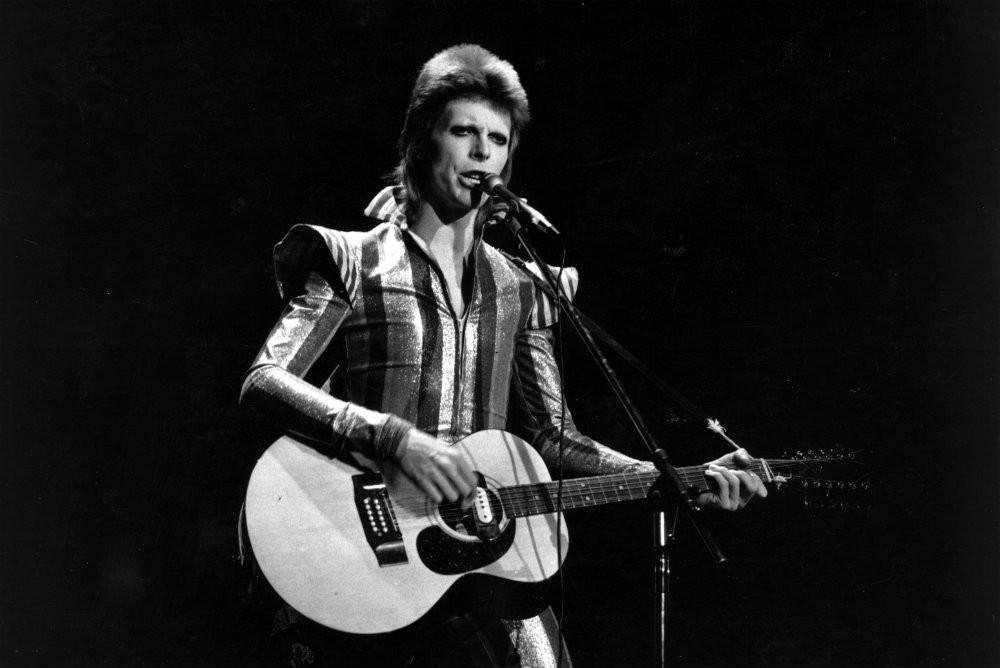 David Bowie Statue Vandalized